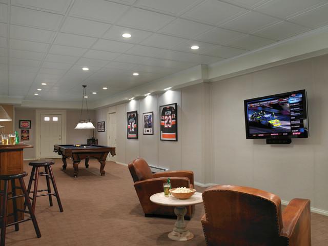 basement detroit by owens corning basement finishing system