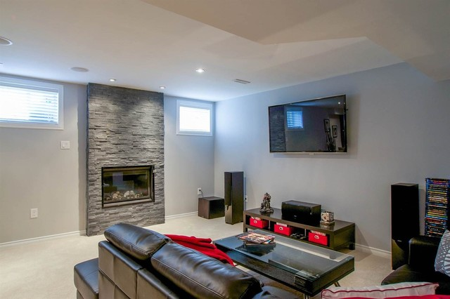 Basement Finishing Modern Basement Toronto