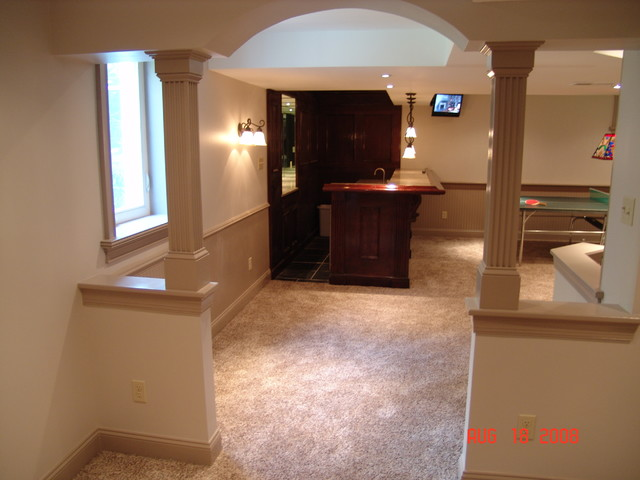 basement remodel in west chester pa traditional basement