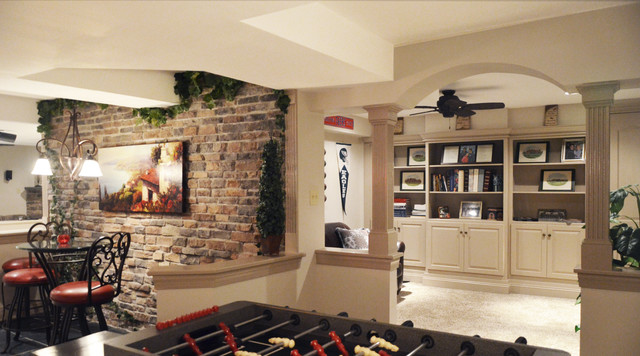 Bathroom remodeling in west chester pa traditional bathroom - Basement Finishing Thornbury Hunt West Chester Pa