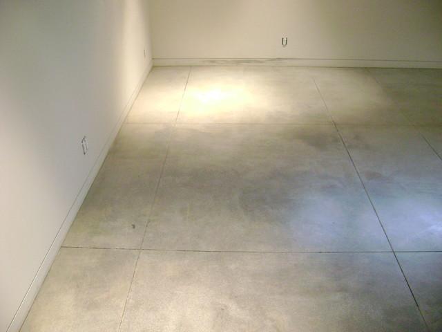 basement flooring modern basement orange county by concrete solutions. Black Bedroom Furniture Sets. Home Design Ideas