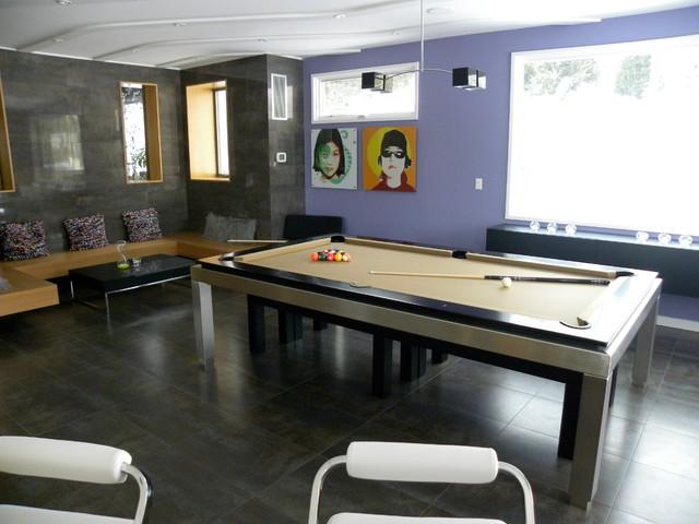 D coration salon billard - Billard moderne ...