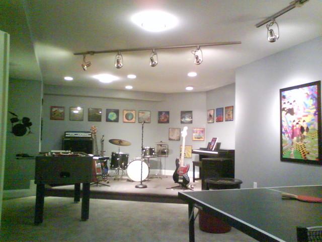 Basement Hideaway modern-basement
