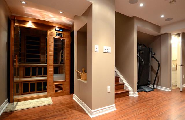 Inredning källare basement : Basement Home Spa - Källare - Toronto - av Finished Basement