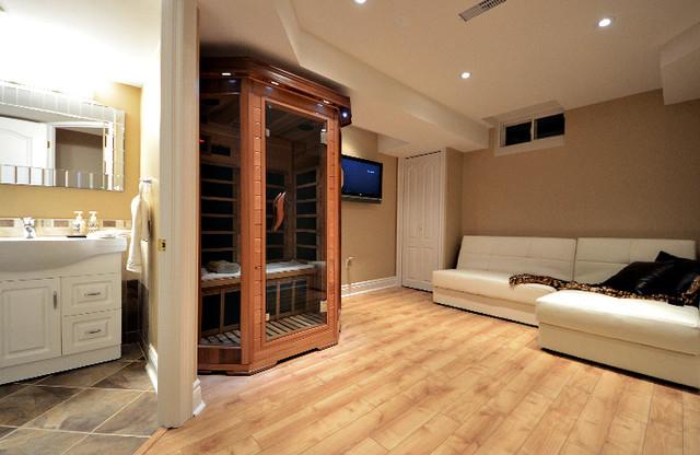 Basement Home Spa - Källare - Toronto - av Finished Basement