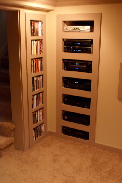 Basement Home Theater Conversion