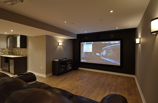 Basement home theatre for Basement home theater plans