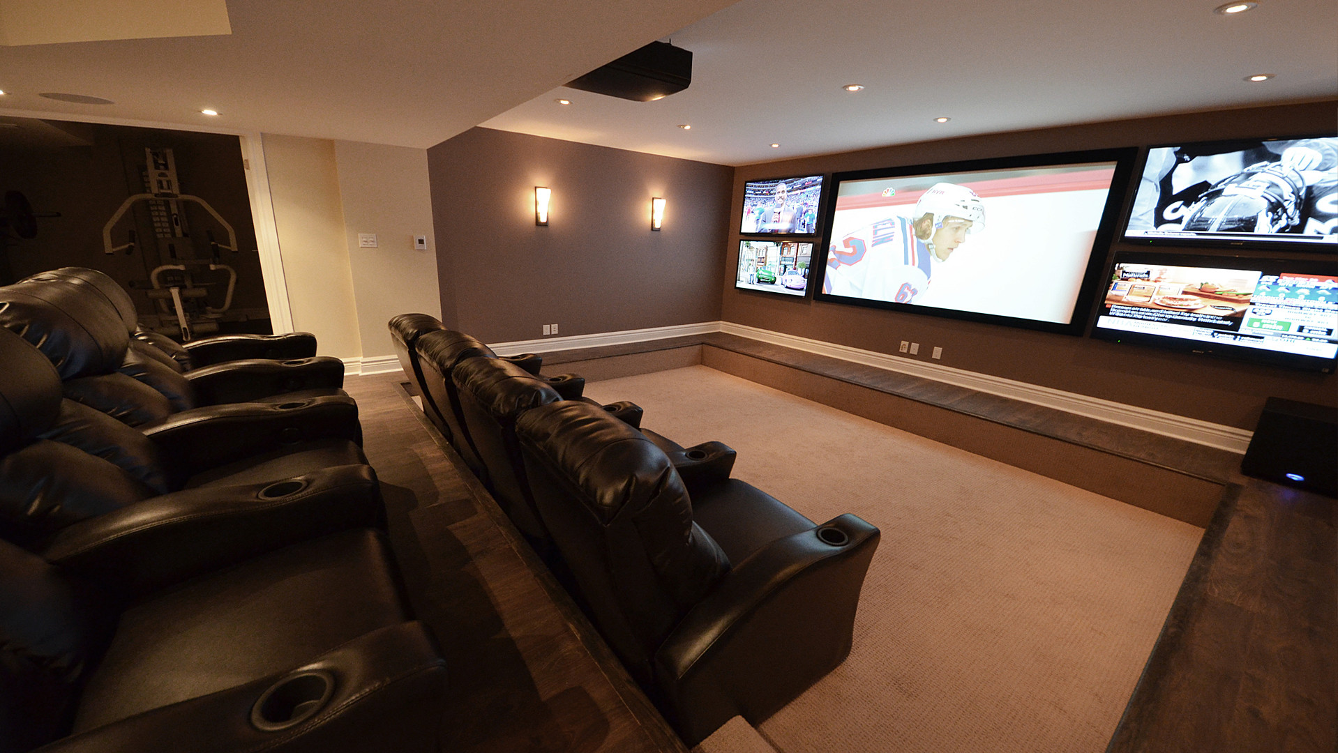 Multiple Tvs Houzz