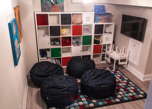 Basement interior design oakville for Interior design house oakville