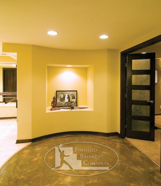 Basement Niche In Hallway