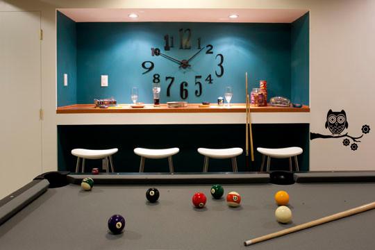 Basement Pool Room Teen Hangout Contemporary Basement