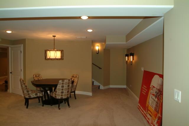 basement prospect heights contemporary basement