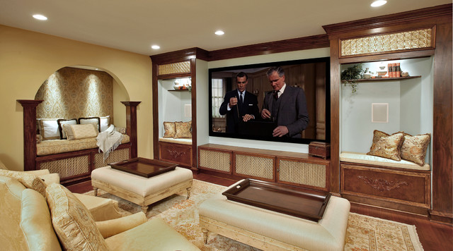 Basement recreation room traditional basement dc for Rec room design ideas