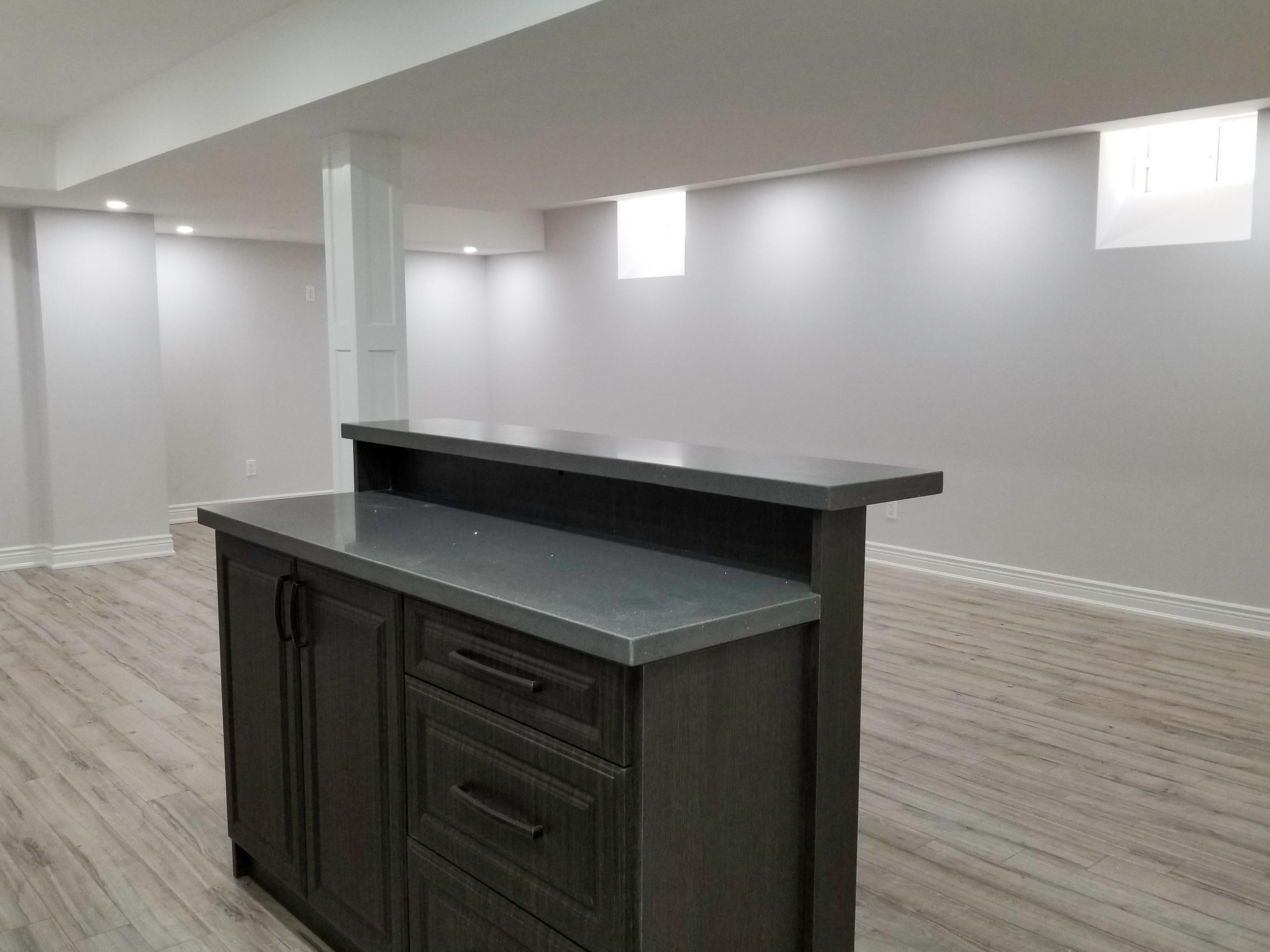 Basement Remodel and Interior Design