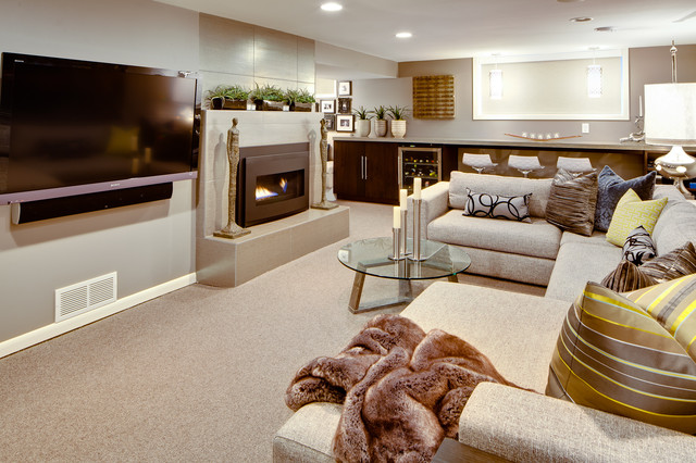 Modern Basement Remodeling Ideas basement remodel