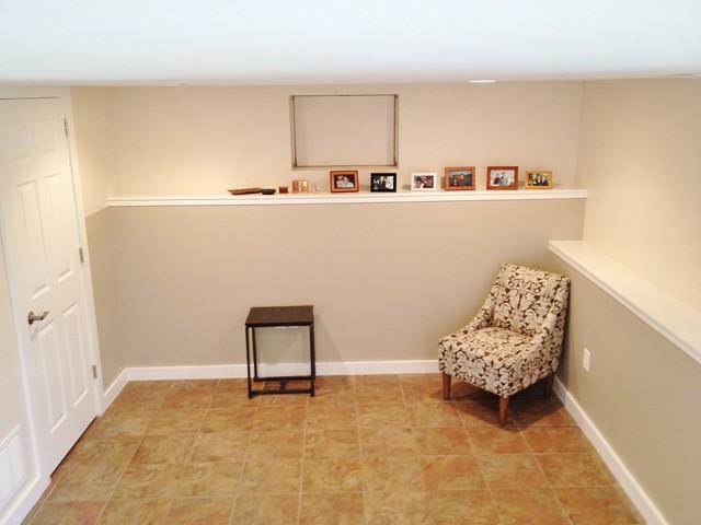basement remodel half bath traditional basement