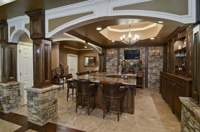 basement remodel traditional basement atlanta by