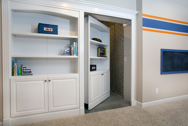 Basement Remodel Traditional Basement Other Metro By Homefront Interior Design