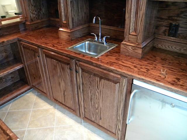 Basement Remodel: Longenderfer traditional-basement