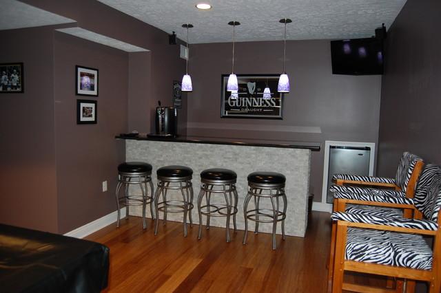basement sports bar. Basement remodel to Modern Sports Bar contemporary basement  Contemporary