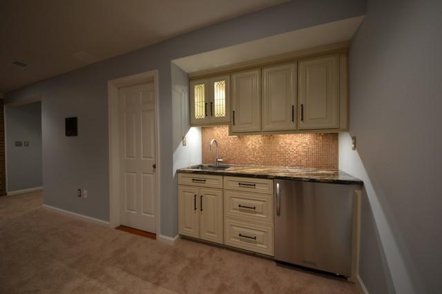 Basement Remodeling, Clarksville, MD traditional-basement