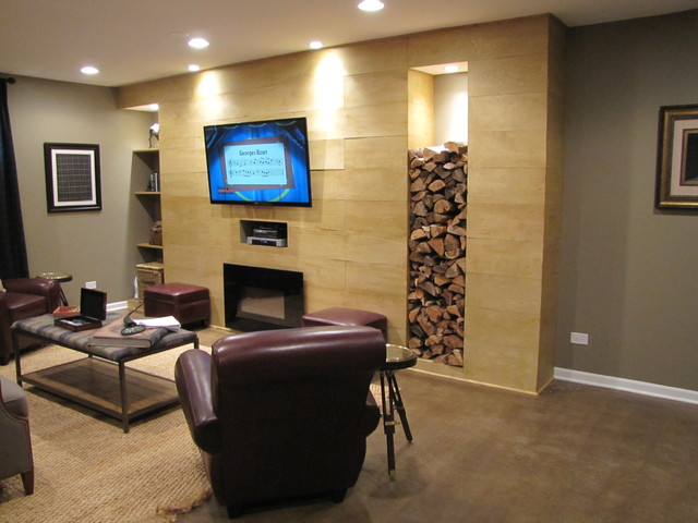 Man Cave With Steve Harvey : Basement remodeling quot man cave make over as park of steve
