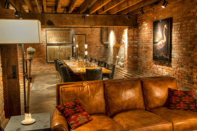 Basement Reno Speakeasy