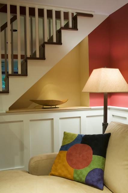 Basement Renovation - Bedroom, Playroom, Bathroom, Laundry, Family Room, Office contemporary-basement