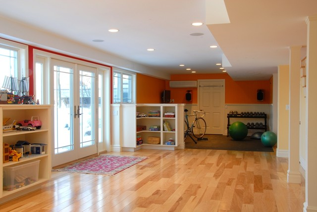 basement renovation charlotte vermont contemporary basement