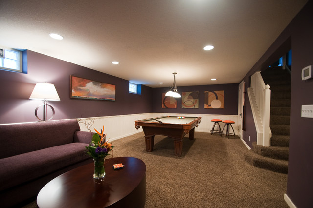 Basement Renovation contemporary-basement