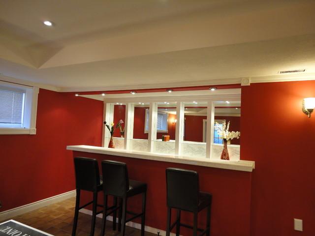 Basement Renovations & Remodels contemporary-basement