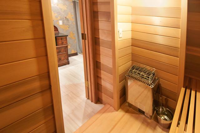 Basement Sauna Mediterranean Basement Other By