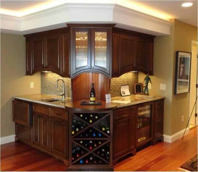 Basement traditional-basement
