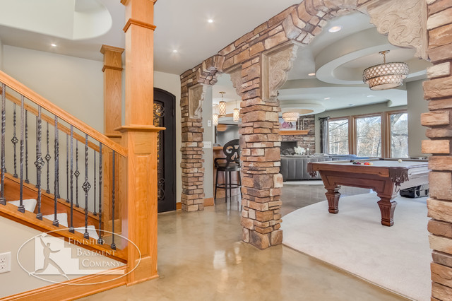 Basement Stairs Entry Traditional Basement Minneapolis Basement Stairs  Entry Traditional Basement. Finish Basement Stairs.