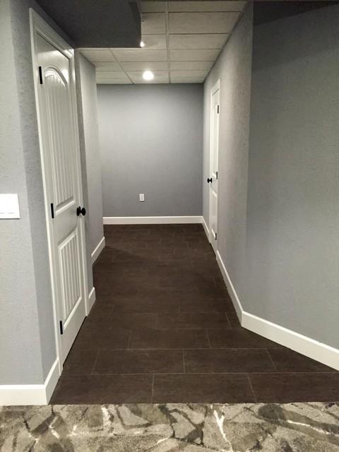 Basement tile basement