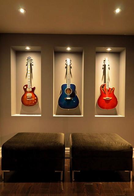 Music Room Design Ideas: Basement Transformation