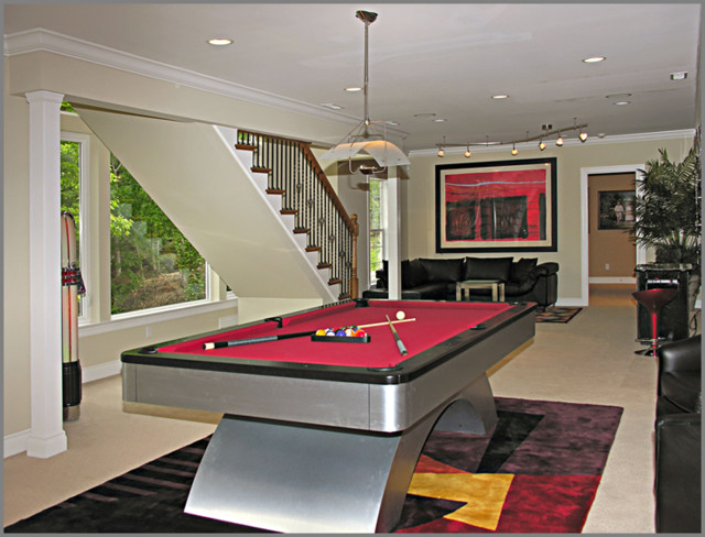 Basements and Lower Level Spaces modern-basement