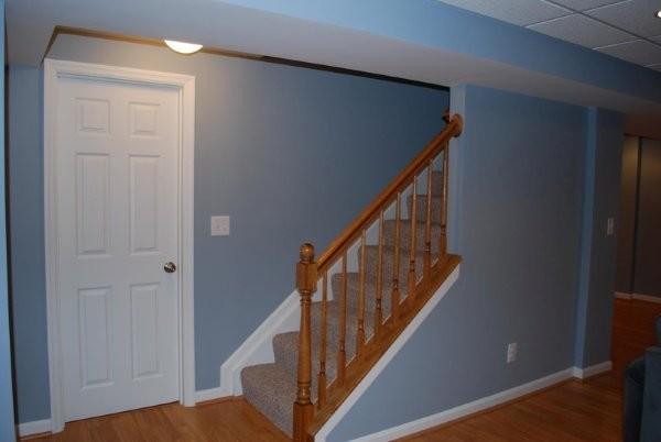 Example of a classic basement design in Cincinnati