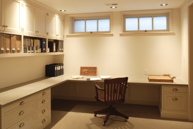 Basements - Traditional - Basement - portland - by Full Circa, Inc.