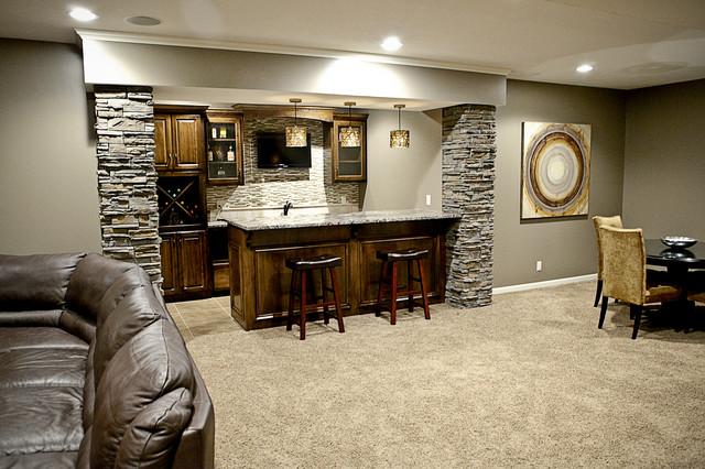 basements transitional basement