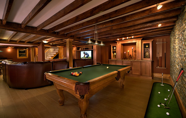 Basements Rustic Basement Baltimore By Wall To