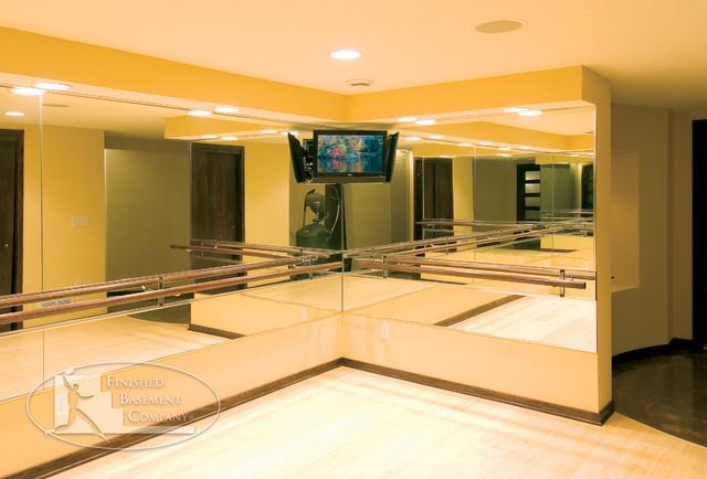 Basment Studio contemporary-basement