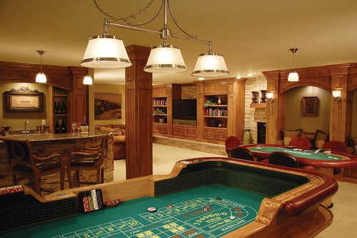 Casino Style Game Room