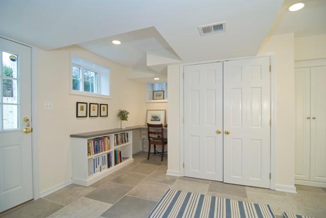Bethesda MD Basement traditional-basement