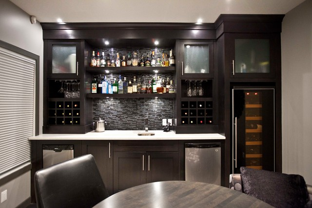 bilick basement development contemporary basement calgary by urban abode. Black Bedroom Furniture Sets. Home Design Ideas
