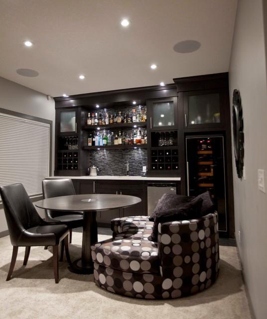 bilick basement development contemporary basement calgary by