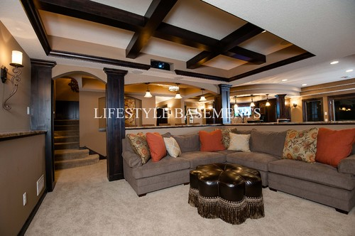 Love the basement color scheme where is the sofa from Good colors for basements