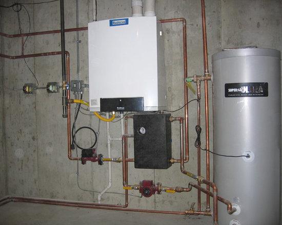 Boiler repair basement design ideas pictures remodel decor - Refinishing basement ideas ...