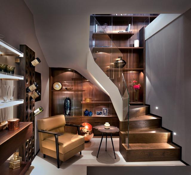 Boutique Mews House, London Contemporary Basement