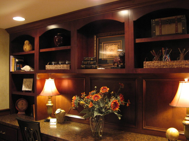Bradley traditional-basement